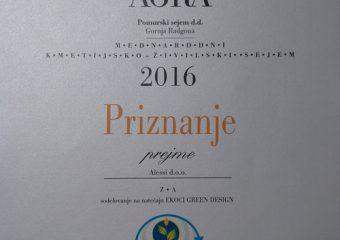 2016 – Ekoci Green Design